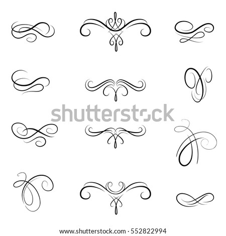 Flourishes Stock Images Royalty Free Images Vectors