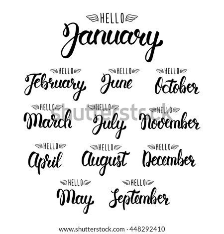 Months Stock Images Royalty Free Images Amp Vectors