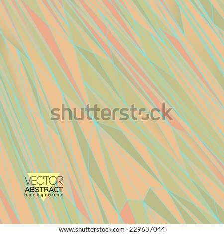 calm vector background of polygons