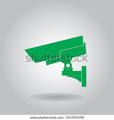 Camcorder icon, vector illustration - stock vector