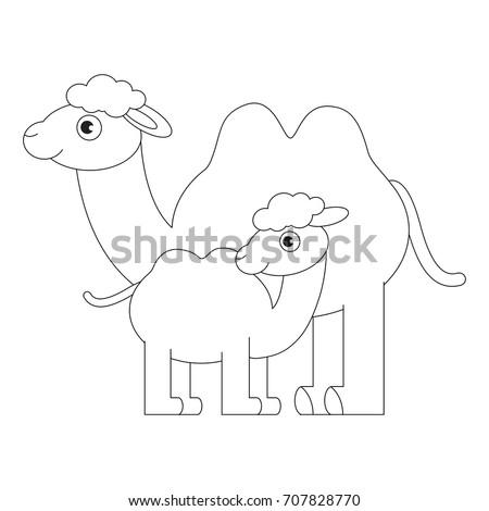 camel outline stock images royaltyfree images amp vectors