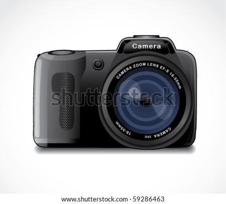 camera - stock vector