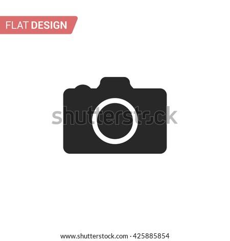 Camera. Camera icon. Flat Camera icon. Camera icon ui. Camera icon app. Camera icon jpg. Camera icon eps. Camera icon logo. Camera icon isolated. Camera web icon. Camera icon vector. Camera icon art - stock vector
