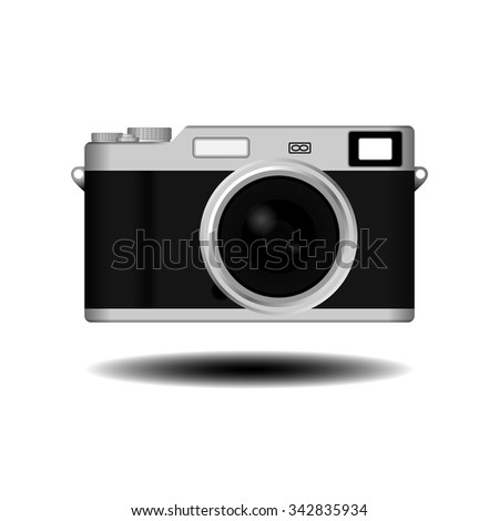 Camera; Camera Vector; Camera Realistic; Camera Retro; Retro Camera; Camera Vintage; Vintage Camera; Camera EPS; Camera JPG; Camera Art; Camera Picture; Camera Model - stock vector