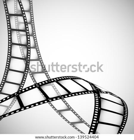 Film strip vector background stock vector 65365699 for Camera film logo