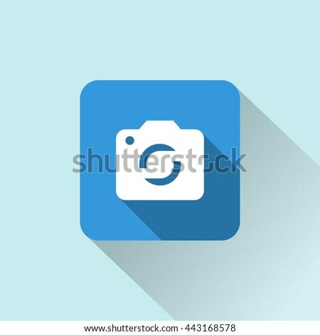 camera icon. camera sign  - stock vector