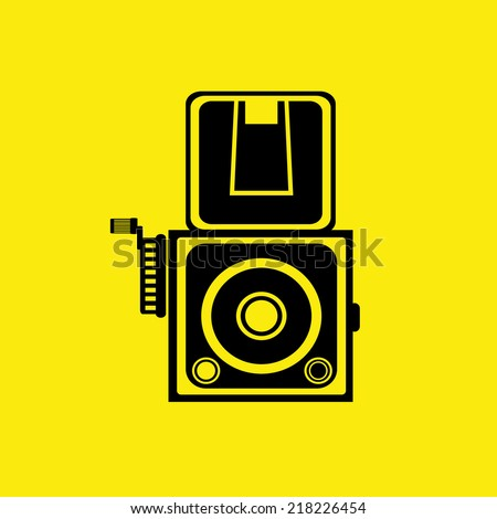 camera  icons set ,Illustration eps 10 - stock vector