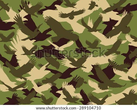 camouflage - stock vector