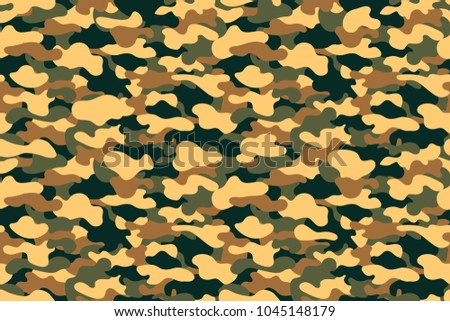 Camouflage seamless pattern military clothing texture stock vector camouflage seamless pattern military clothing texture background with yellow green and brown foliage toneelgroepblik Choice Image