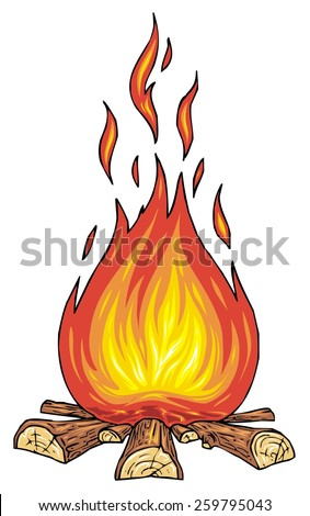Campfire Stock Photos, Royalty-Free Images & Vectors ...