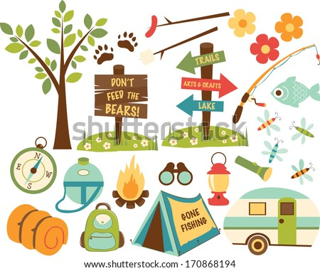 Camping Stock Images Royalty Free Vectors