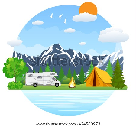 Rv Camper Stock Images, Royalty-Free Images & Vectors | Shutterstock