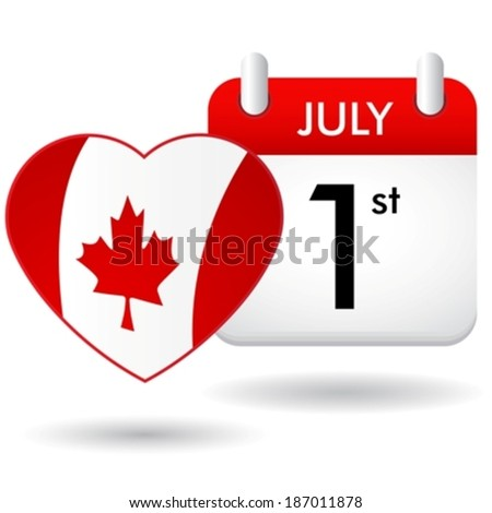 Canada day eps10 - stock vector