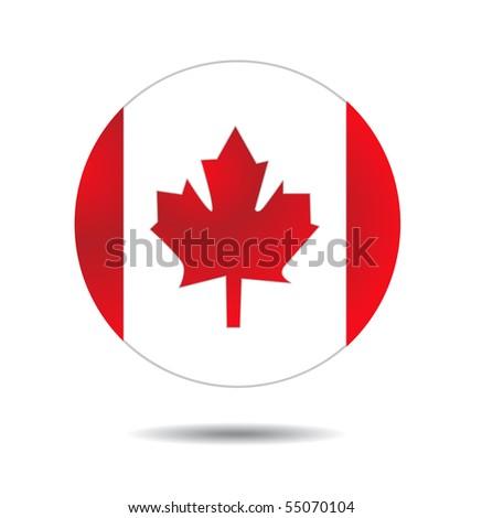 Canada flag - stock vector