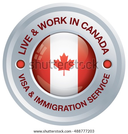 Canada immigration service icon