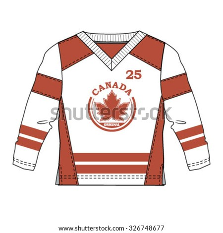 Canadian Hockey Jersey