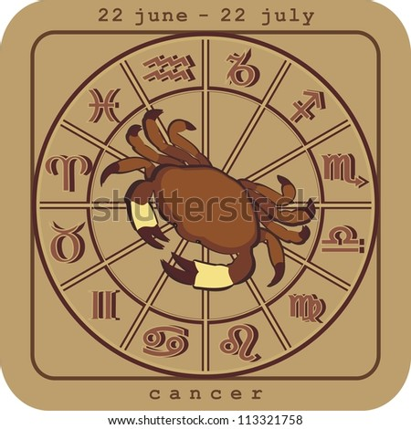 cancer european zodiac