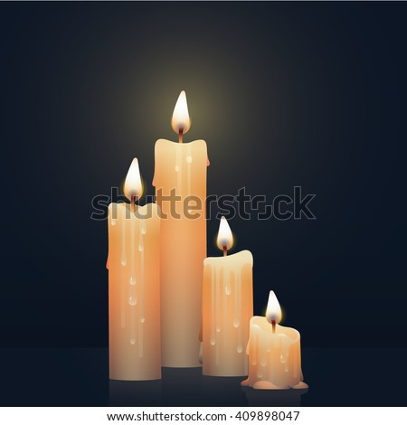 Melting Candle Stock Images Royalty Free Images Vectors