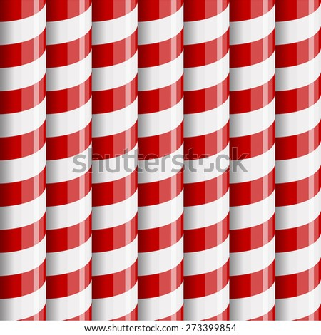 Candy Cane Pattern Seamless Candy Cane Seamless Pattern
