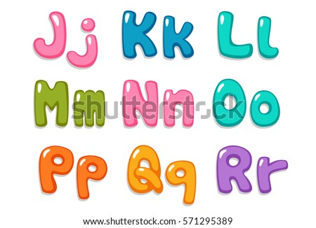 Candy Color Kid Font Part 2