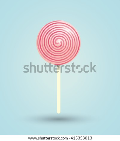 Candy design. sweet icon. dessert concept, vector illustration