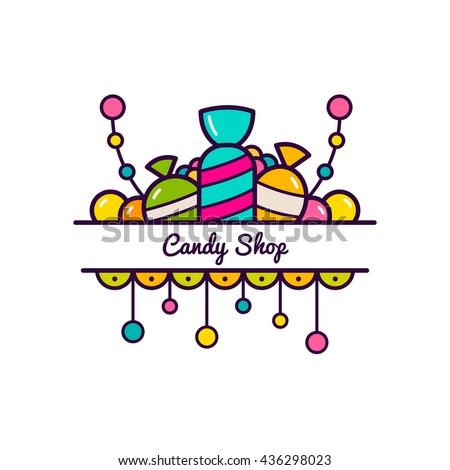 candy logo stock images royaltyfree images amp vectors