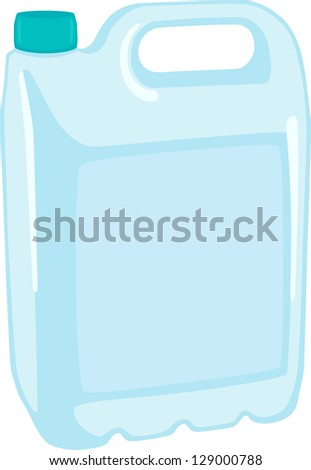 Canister - stock vector
