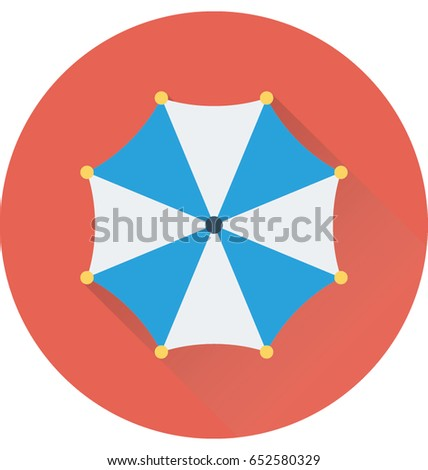 Canopy Vector Icon  sc 1 st  Shutterstock & Canopy Vector Icon Stock Vector 652580329 - Shutterstock