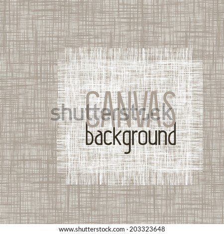 canvas background - stock vector