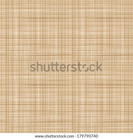 Canvas fabric texture. Vector seamless background. - stock vector