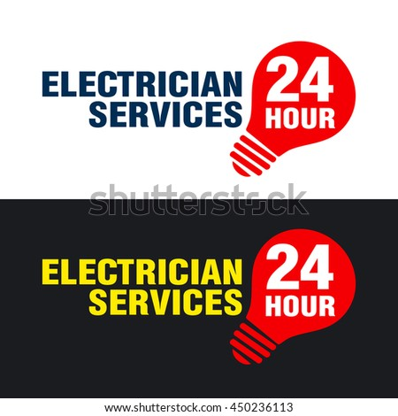 Electrician Logo Stock Images Royalty Free Vectors