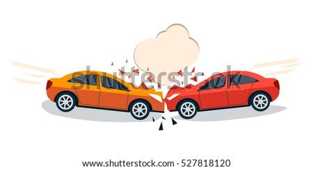 Car Crash Drawing Ditch