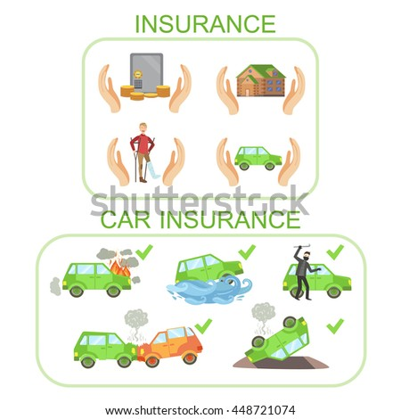 Car And Other Insurance Infographic Poster
