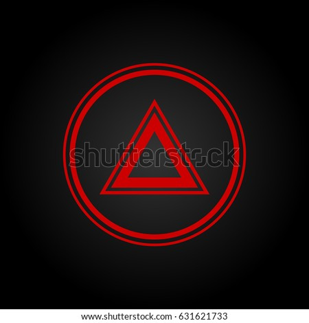 Car Warning Lights Stock Images RoyaltyFree Images  Vectors - Car sign on dashboard