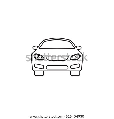 Car Icon Automobile Symbol Vector Graphics Stock Vector - Best automobile graphics and patterns