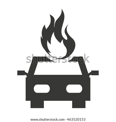 car insurance isolated icon vector illustration design