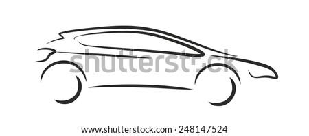 Car logo - stock vector