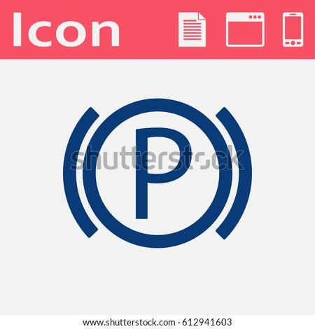 Parking Brake Light Stock Images RoyaltyFree Images Vectors - Car image sign of dashboarddashboard warning lights stock images royaltyfree images