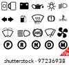 Car part icon set 15. Vector Illustration. - stock vector