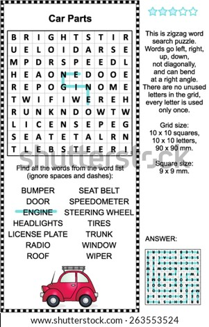 Word Search Game Stock Royalty Free & Vectors