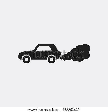 car pollution Icon, car pollution Icon Eps10, car pollution Icon Vector, car pollution Icon Eps, car pollution Icon Jpg, car pollution Icon, car pollution Icon Flat, car pollution Icon, car pollution - stock vector