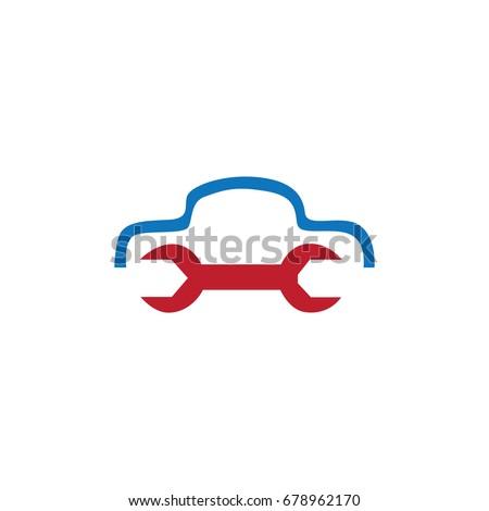 car repair logo stock vector 678962170 shutterstock rh shutterstock com car repair log sheet car repair log form