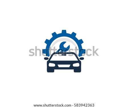 car repair service logo design element stock vector 583942363 rh shutterstock com vehicle repair logs vehicle repair log form