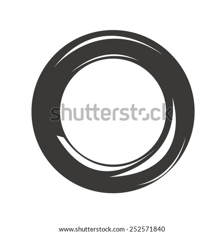 Car Tire - stock vector