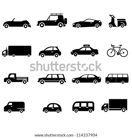 car, transportation - stock vector