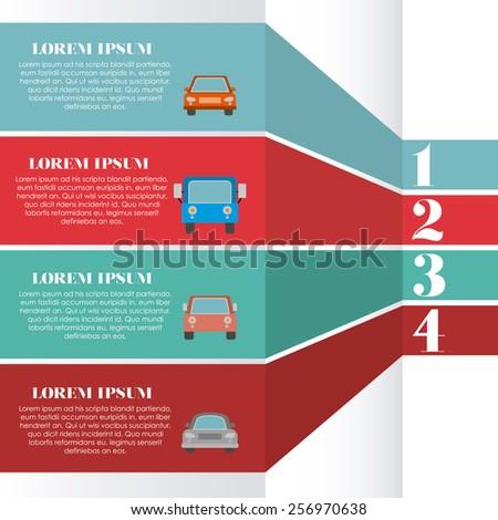 Car, Vector illustration - stock vector