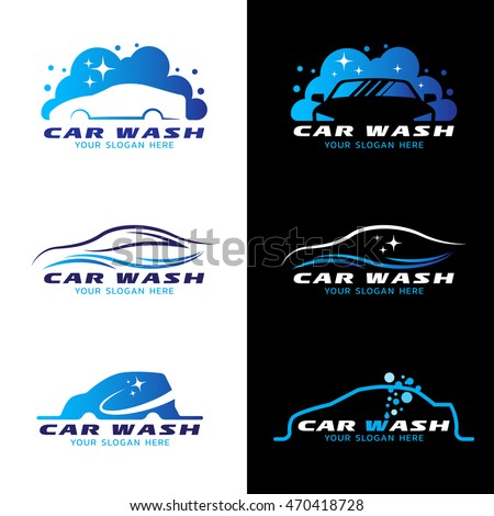 Carwash Stock Images RoyaltyFree Images Vectors Shutterstock - Car sign with namesbikes and cars popular car symbols entertaining ideas