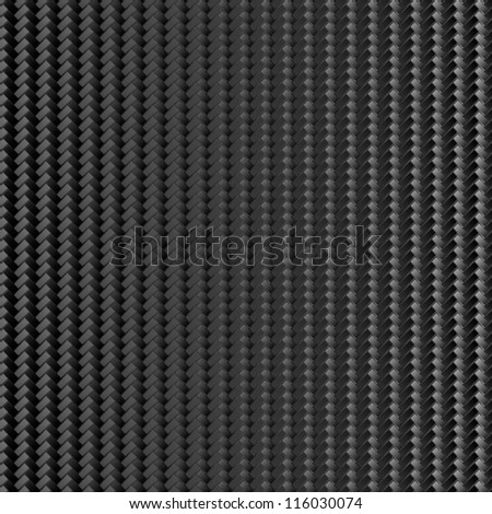 Carbon background - stock vector