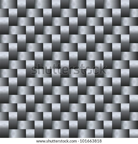 Carbon fiber - stock vector