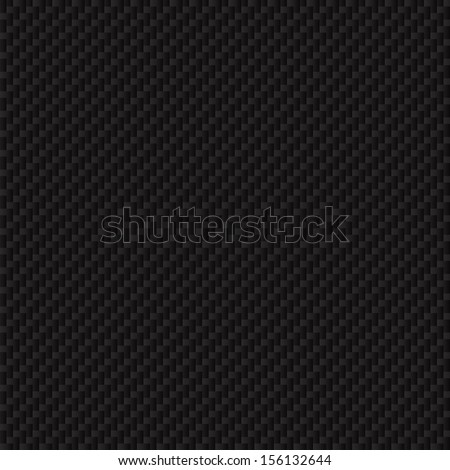 Carbon fiber texture. Seamless vector luxury texture. Technology abstract background. - stock vector
